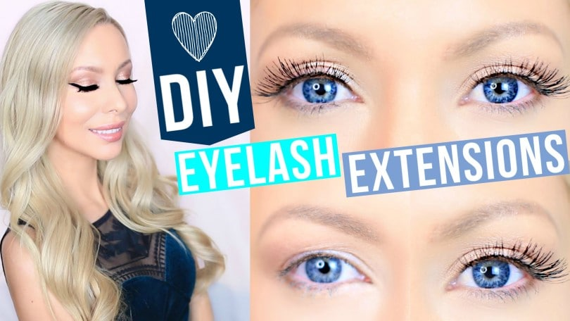 DIY Eyelash Extensions