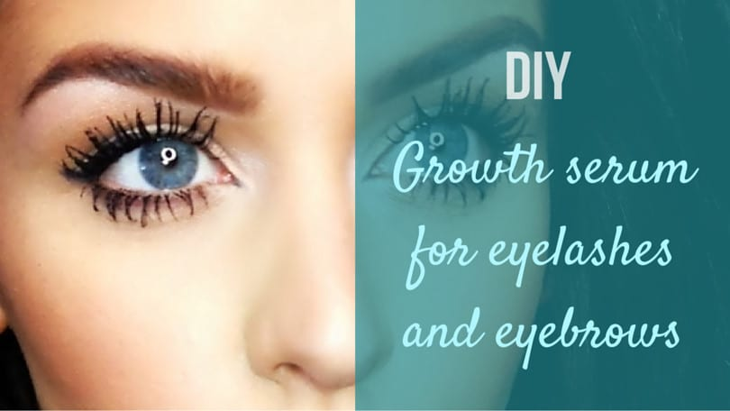 DIY Growth Serum For Eyelashes And Eyebrows