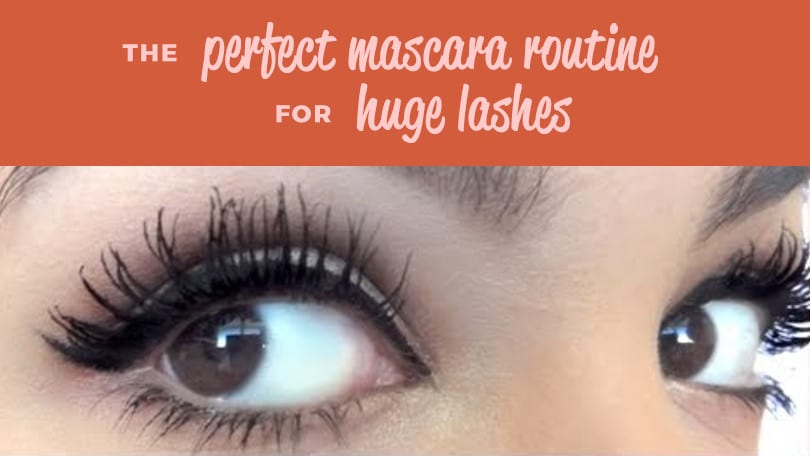 Perfect Mascara Routine How To Get Long Eyelashes Without
