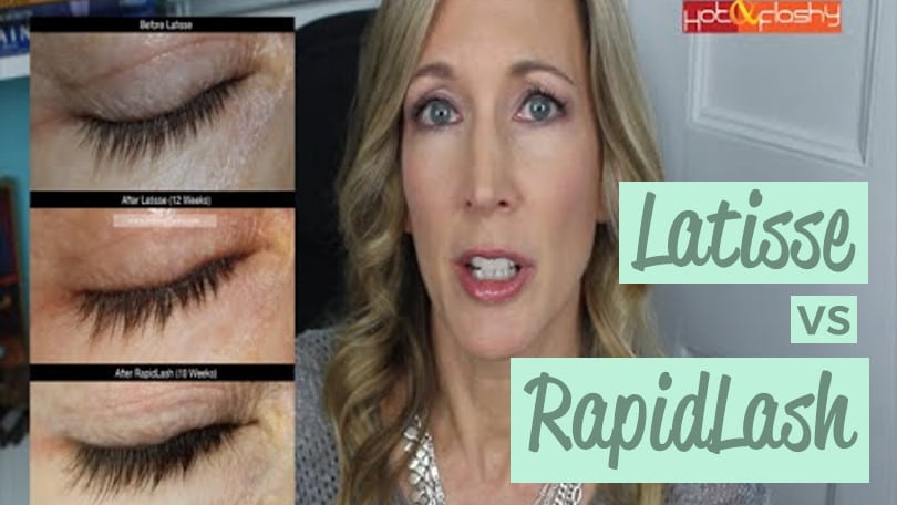 RapidLash Review and Latisse Comparison