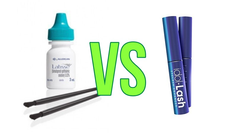 Latisse VS Idol Lash Comparison