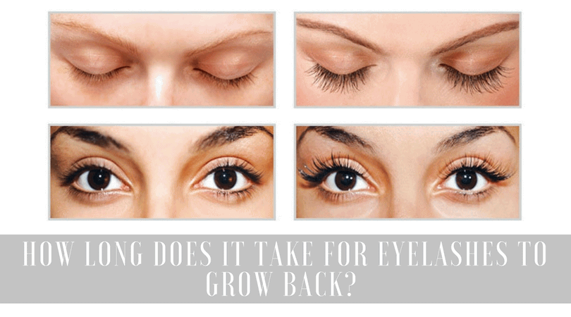 How to grow eyelashes back fast