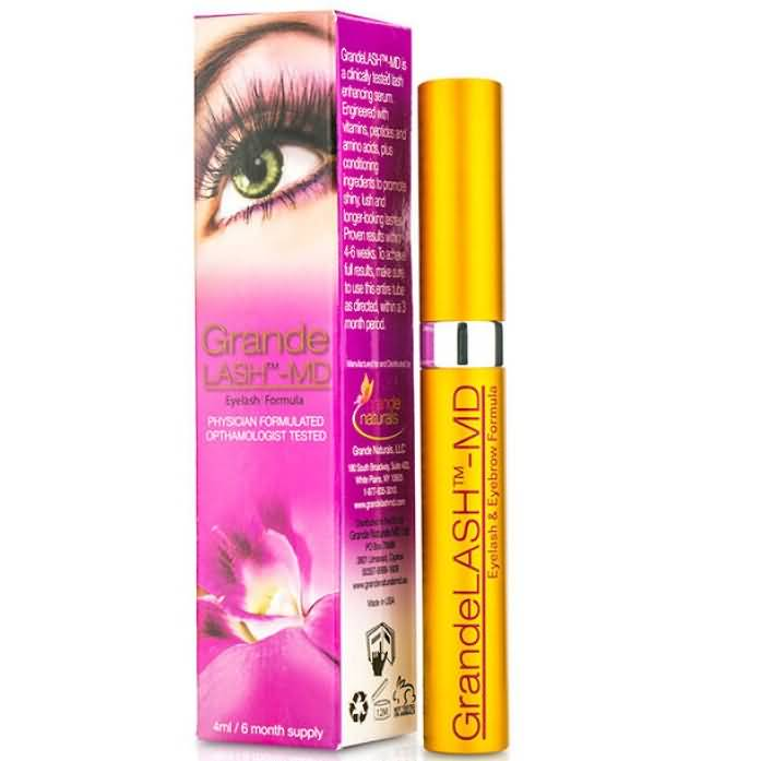 7a5ec35e04b The creators of GrandeLASH MD boast that their eyelash growth formula has  breakthrough technology that will condition your lashes while lessening  breakage ...