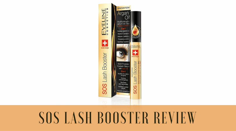 SOS Lash Booster Review: 3 You Things To Know Before Buying This Serum.