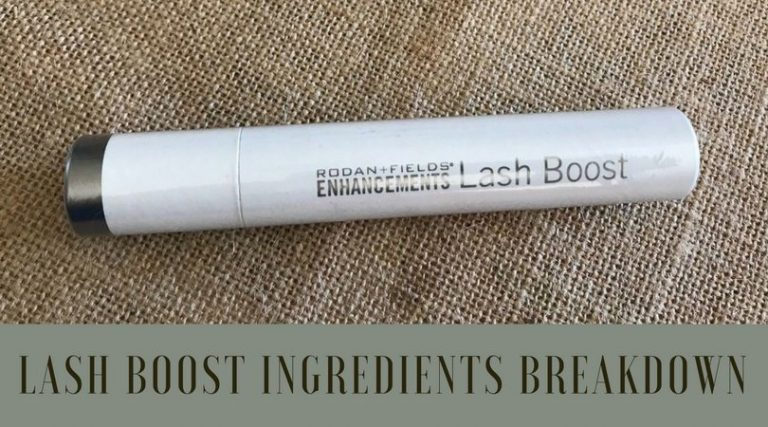 Top 11 Ingredients Breakdown: Lash Boost by Rodan and Fields