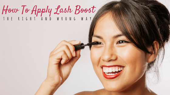 How To Apply Rodan+Fields Lash Boost Without Getting Red Eyes