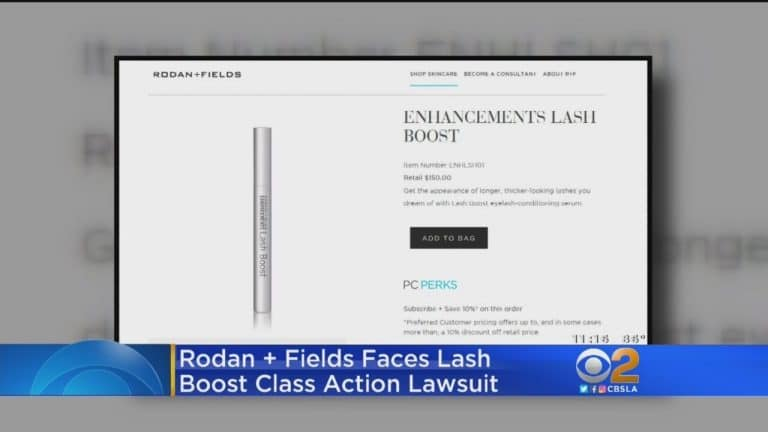 Rodan+Fields Blasted With $5,000,000 Class-Action Lawsuit Over Lash Boost