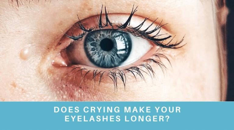 Does crying make your eyelashes longer?